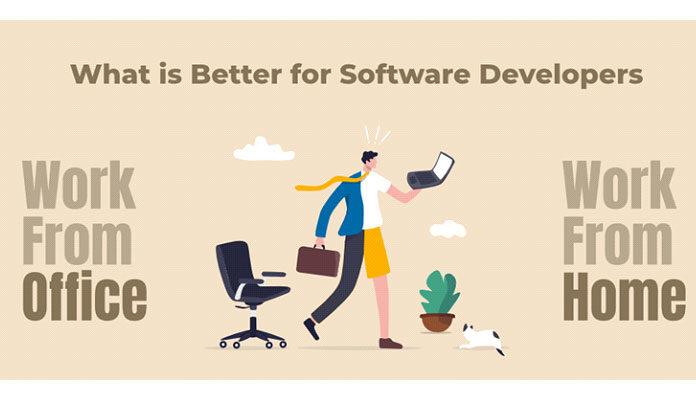 В офисе или из дома работать - что лучше для разработчиков программного обеспечения
