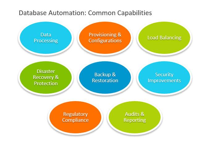 Вот наиболее распространенные возможности автоматизации баз данных