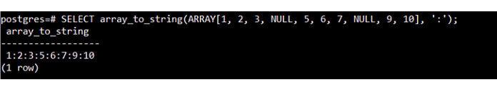 Выможете видеть, что наэтот раз внашем массиве также есть несколько значений NULL