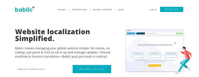 Bablic— это переводческая платформа, которая позволяет пользователям выбирать