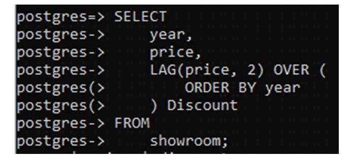 Единственный оператор выбора отображает цены