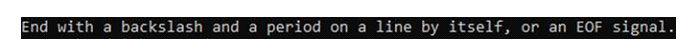 Если вызакончили добавление строк втаблицу