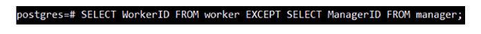 Когда мыуспешно вставили несколько записей внаши таблицы PostgreSQL