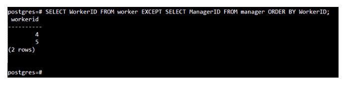 Предложение «ORDERBY» вPostgreSQL используется для