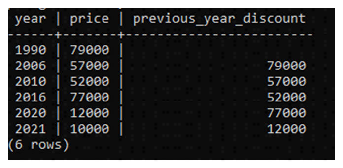 При переходе ковторому оператору select изтаблицы выбираются