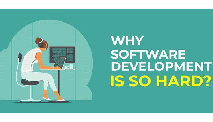 разработка программного обеспечения так сложна